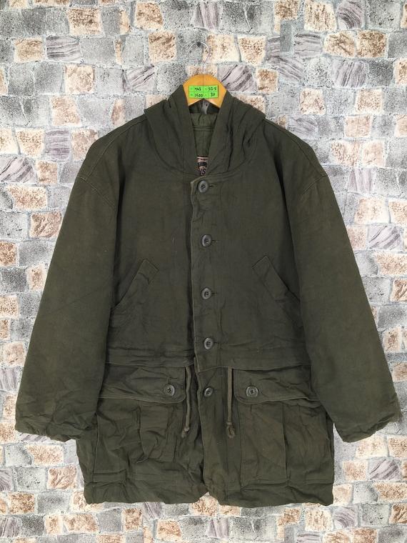 Issey Miyake Parka Hoodie Jacket Large Vintage Iss