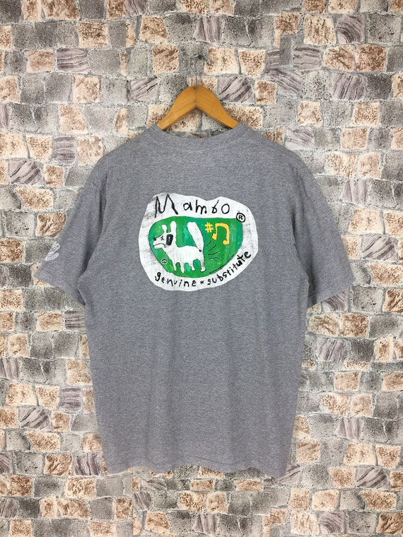 Vintage Mambo Australia Tshirt Gray Large Mambo Su