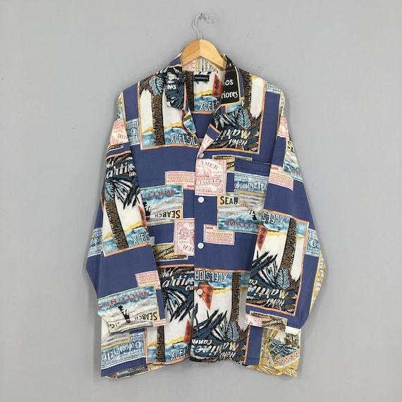 Vintage Aloha Hawaiian Island Wear Shirt XLarge 19