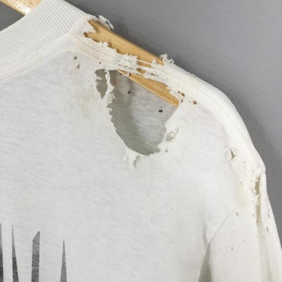 Vintage Distressed Madonna T shirt Large Pop Rock… - image 9
