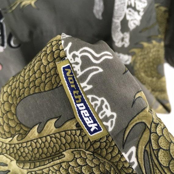 Vintage Dragon Hawaii Shirt XXLarge Japanese Tatt… - image 6