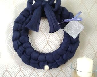Chunky Knit Wreath