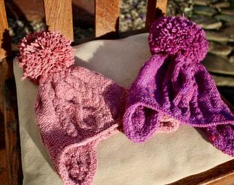 Girl's Bobble Hat