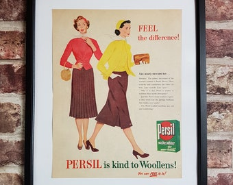 MID CENTURY 1950/'S GEORGE NELSON HERMAN MILLER ADVERTISEMENT A3 POSTER RE PRINT
