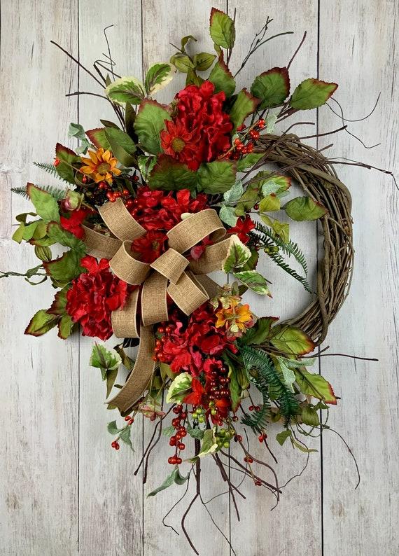 Green Wreath Eucalyptus Wreath Keleas All Year Wreath all season wreath Spring Wreath year round Wreath Natural wreath
