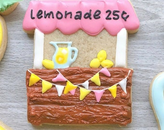 Lemonade Stand - Cookie Cutter  - Fondant Cutter - Clay Cutter - Dough Cutter