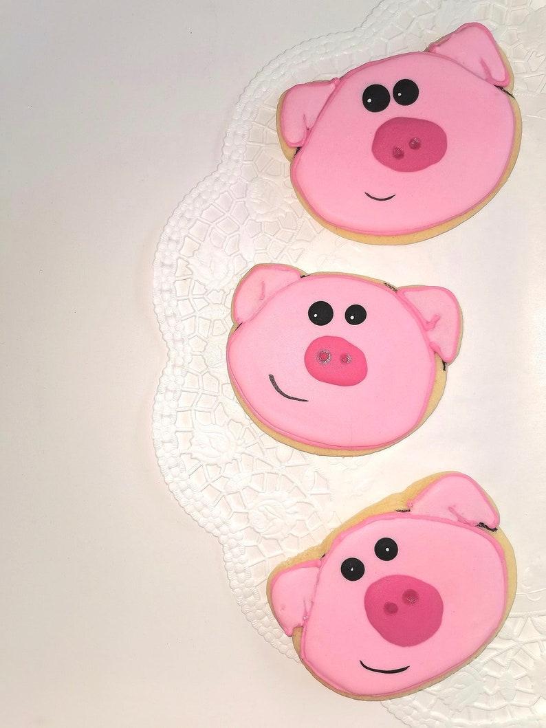 Clay Cutter Cookie Cutter Fondant Cutter Dough Cutter Pig Head