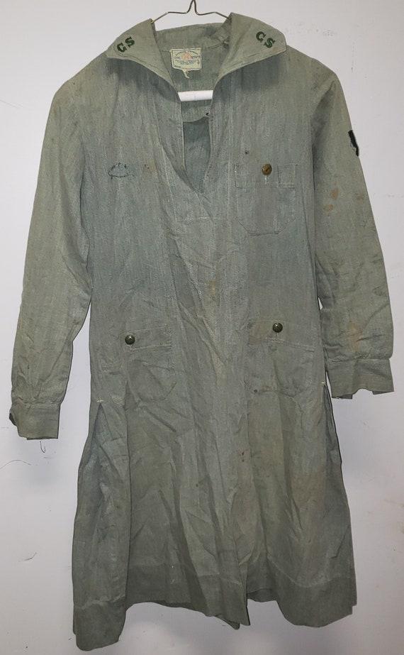 1930 s Girl Scout Modesty Uniform Blank Troop 17 w