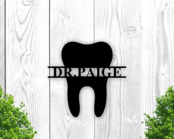 Dentist Office Wall Decor, Dentist Office Sign, Dental Hygienist Gift Idea, Orthodontist Office Sign, Orthodontist Wall Decor