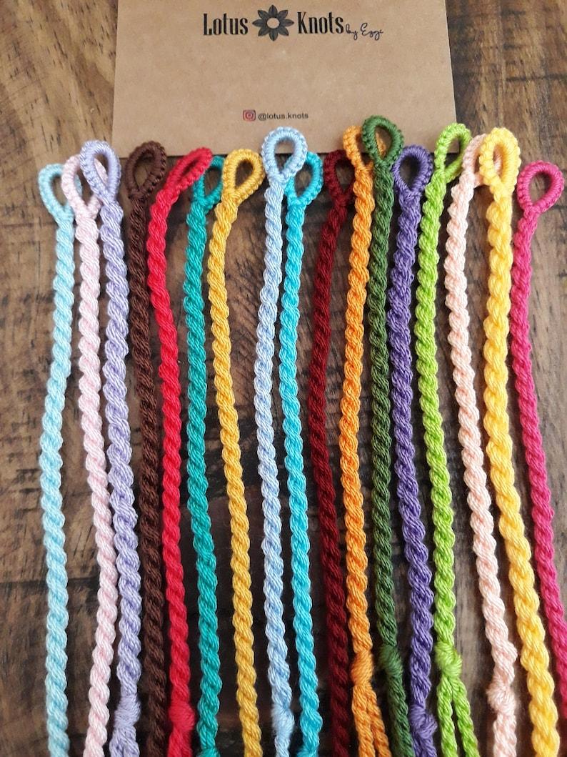 best friend gift woven thread boho jewelry Bulk string bracelets wholesale bracelets