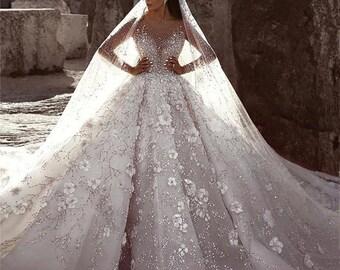 Princess Wedding Dress Etsy,Dresses For Weddings Guests Uk