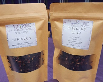 Hibiscus Leaf | Lowers Blood Pressure | Lowers Cholesterol | Aids Weight Loss | Protects Liver
