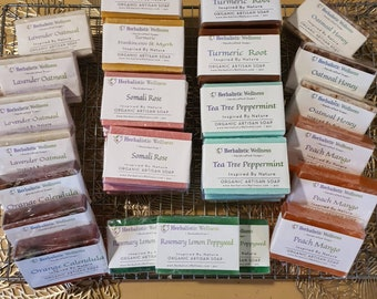Wholesale Handcrafted Artisan Soaps Herbal Infused at 20% Discount off Normal Shop Prices
