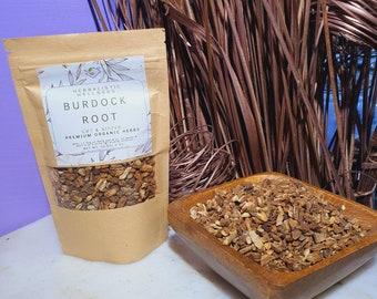 Burdock Root | Premium Dried Organic Wildcrafted Root