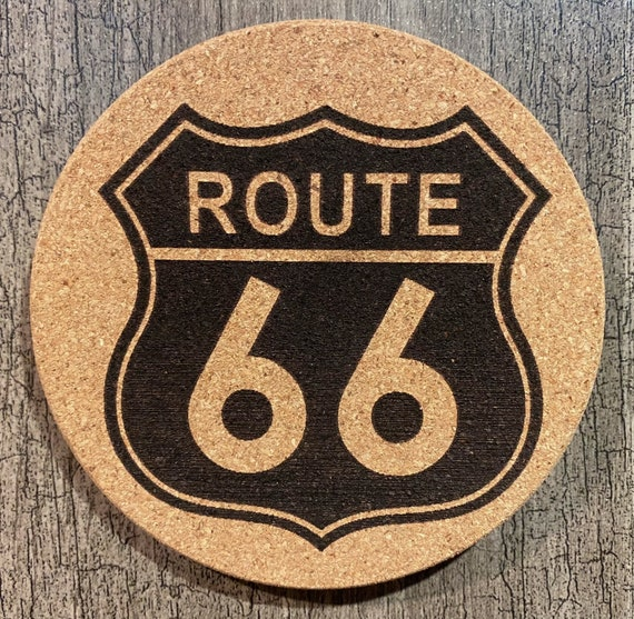 Coasters (USA Route 66) Package (4/6/8/10)