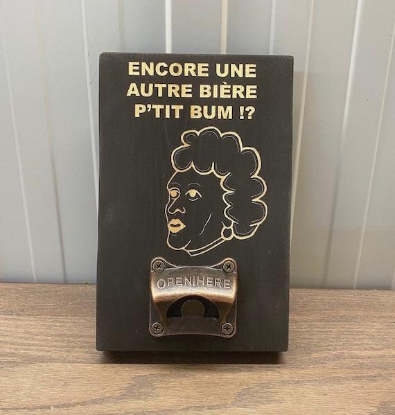 Wooden wall bottle opener (Yolande Ouellet)