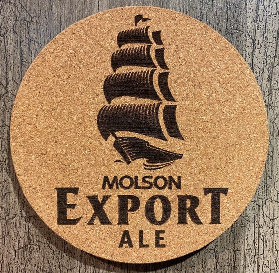Coasters (Molson Export Beer) Package (4/6/8/10)