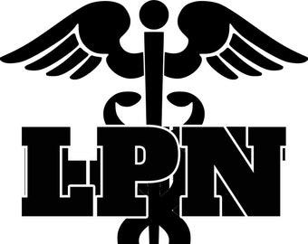 RN REGISTERED NURSE iron On Patch Professions Symbol Caduceus