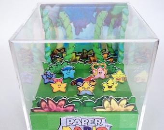 Paper Mario 3D Diorama Cube