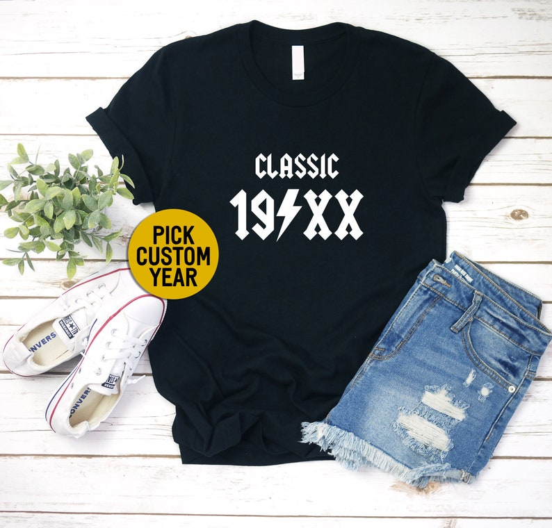 Gift For Her Gift for Him Birthday Gift Custom Shirt Birthday Shirt Custom Birthday Shirt Custom Gift Personalized Gift