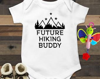 Adventure Baby Onesie\u00ae Mountain Baby Gift Outdoor Baby Clothes Mountain Onesie\u00ae  Hiking Baby Gift Outdoorsy Baby Clothes
