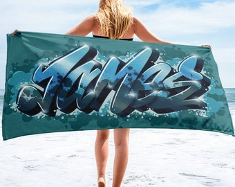James Personalised Name Towel Limited Edition