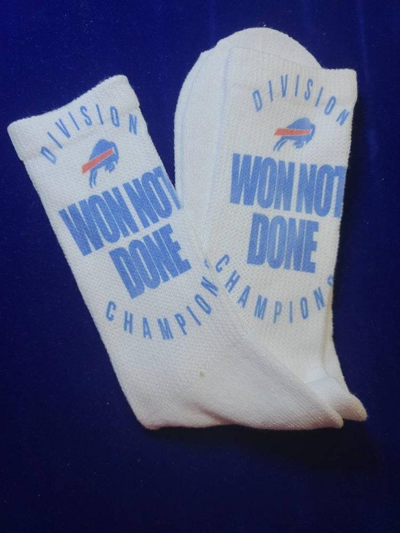 Buffalo Bills custom socks..