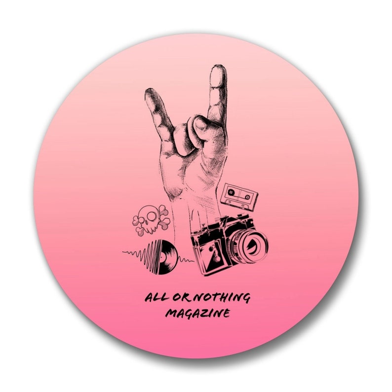 All or Nothing Magazine Pin 4 image 0