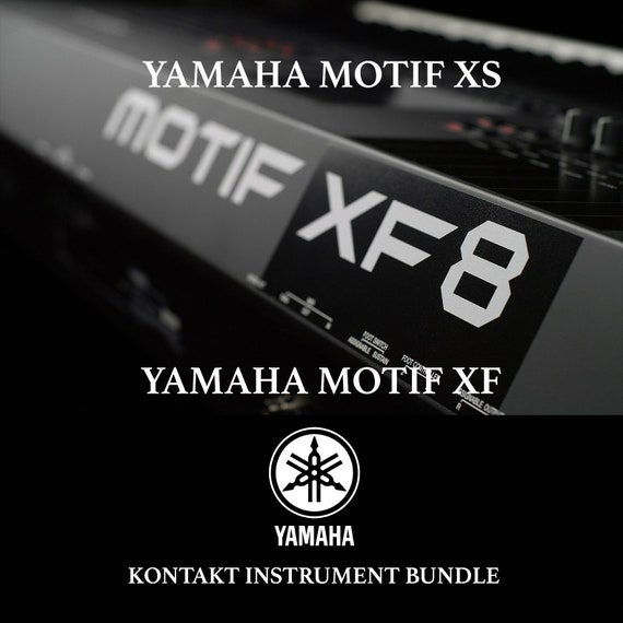 Yamaha Motif XS & Motif XF with Kontakt Instrument Bundle