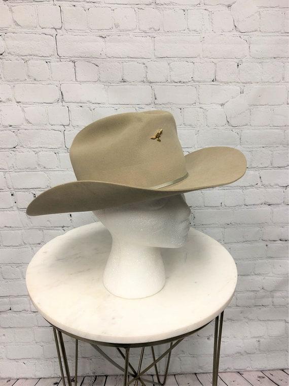 Vintage Stetson, Silverbelly Hat, Stetson Cowboy H
