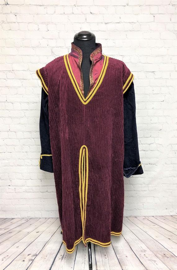 Vintage, Antique, Fraternal Robe, Unique, Maroon a