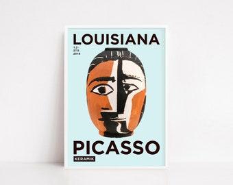 Picasso poster | exhibition poster | exhibition print | Pablo Picasso Louisiana