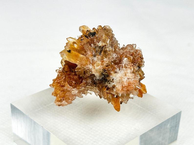 Incredible Rare Creedite 40mm Creedite Mineral Specimen Orange Natural Specimen~Locality Mexico