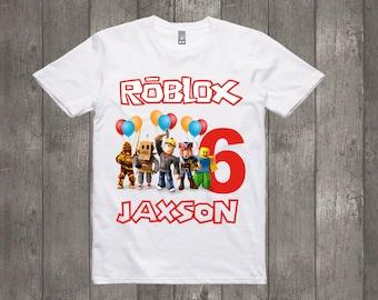 Roblox Tshirt Childrens T-shirt Personalised Gamertag