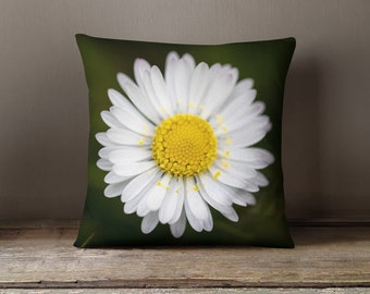 daisy home decor decorative pillow