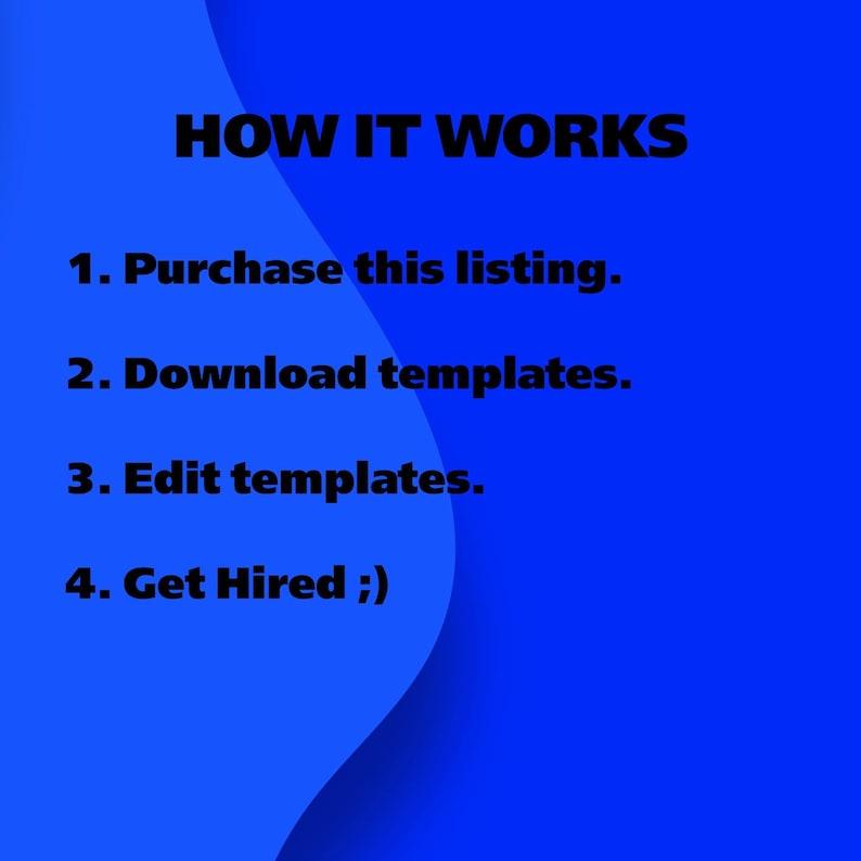 Professional Resume Instant Download CV Template Resume Template Google Doc Resume Format Modern Resume Template for Google Doc