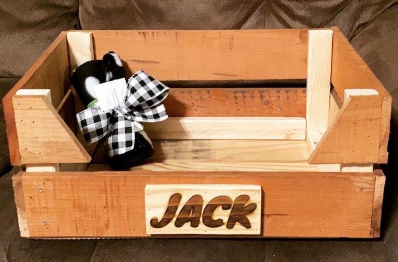 Personalized Dog Bed Pallet Dog Bed Bed for dog Dog Bed SmallMedium Pet Bed SmallMedium Dog Bed Dog Furniture Wooden Dog Bed