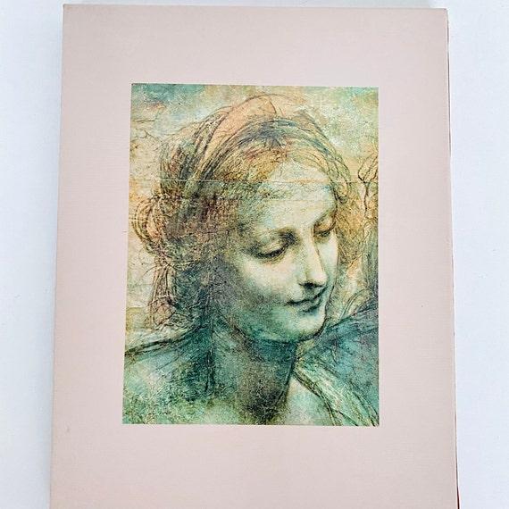 Time-Life Library of Art - The World of Leonardo da Vinci Hardcover Coffee Table Book