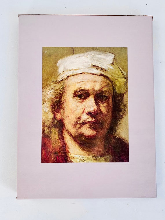 Time-Life Library of Art - The World of Rembrandt Hardcover Coffee Table Book