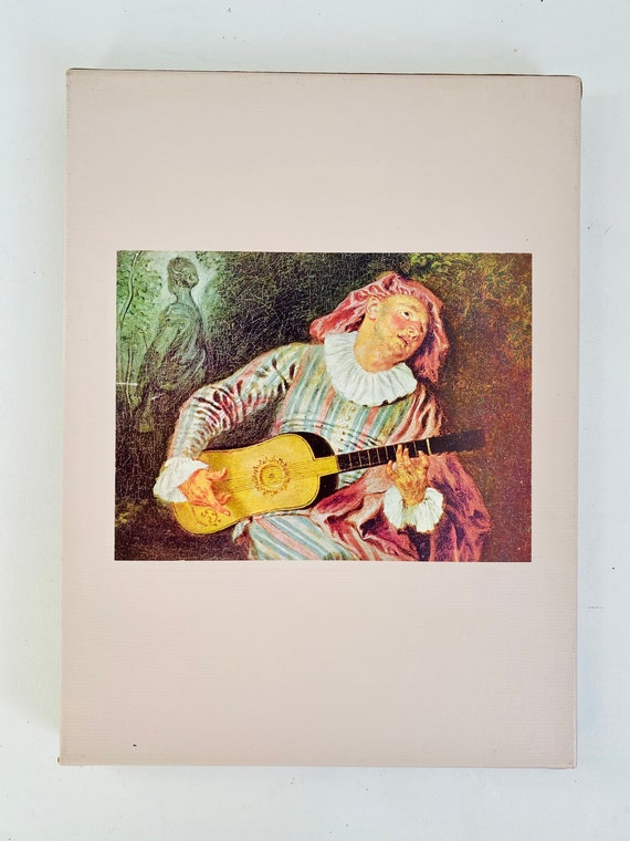Time-Life Library of Art - The World of Watteau Hardcover Coffee Table Book