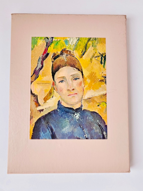 Time-Life Library of Art - The World of Cezanne Hardcover Coffee Table Book