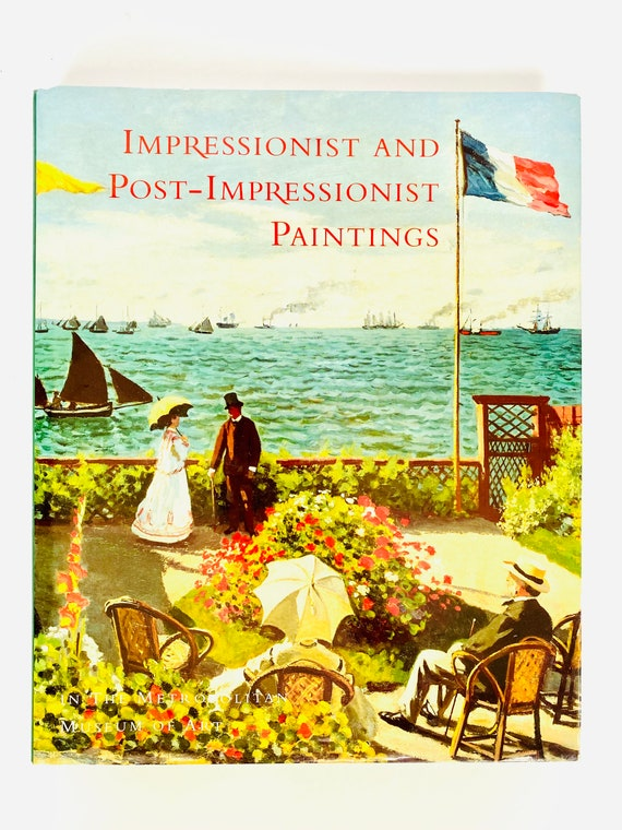 Impressionist and Post-Impressionist Hardcover Art Coffee Table Book
