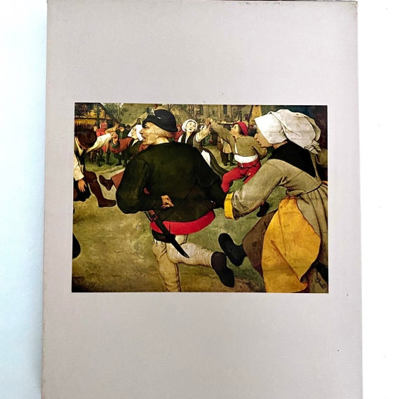 Time-Life Library of Art - The World of Bruegel Hardcover Coffee Table Book