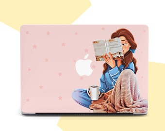MacBook 15 Cover Cartoon Rabbit Pretty Cute Pet Plastic Hard Shell Compatible Mac Air 11 Pro 13 15 15 Inch MacBook Case Protection for MacBook 2016-2019 Version