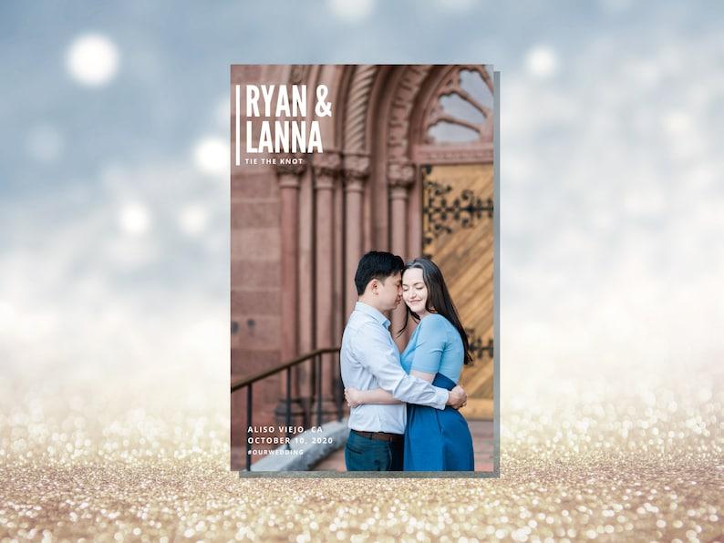 Wedding Storybook Program  Gorgeous Magazine-Style Wedding image 0