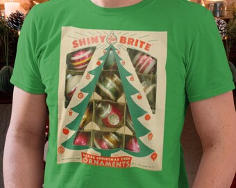 Shiny Brite window box ornament t shirt, shiny brite, ornaments, Christmas t shirt, Christmas tree