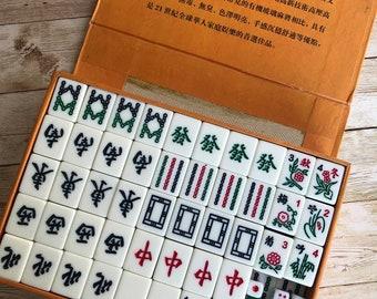 Mah Jongg-Bambou-Avec Caractères Arabes