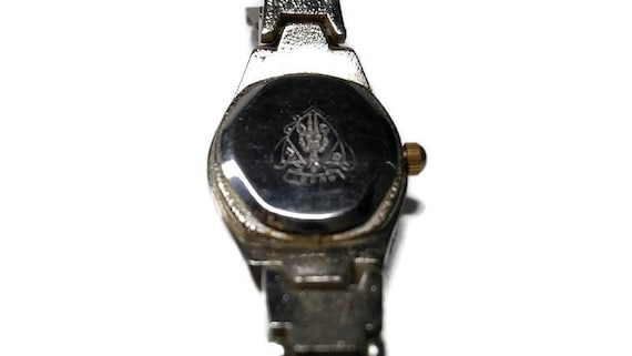Vtg 90s Gucci Chain Link Watch WORKS - image 4