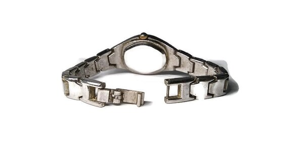 Vtg 90s Gucci Chain Link Watch WORKS - image 3