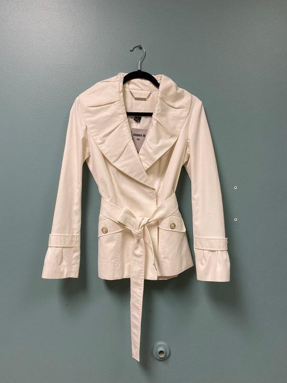 White Dress Jacket w/ Belt